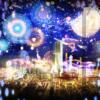 幻想的!あべのハルカス CITY LIGHT FANTASIA夜景!マッピング・イリュージョン