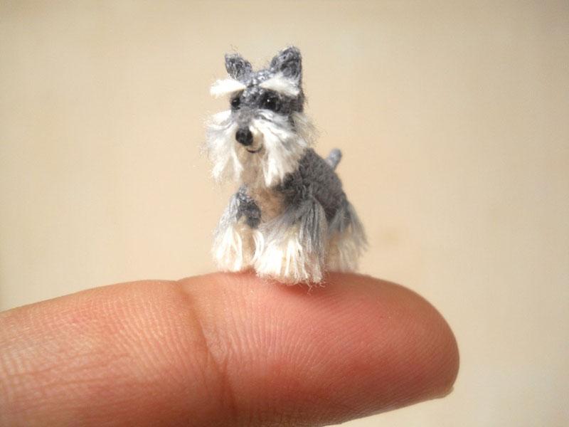 可愛い!編みぐるみの域を超えたミニチュアサイズの動物達を作る作家グループ-SU AMI