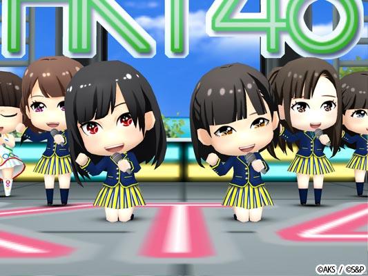 NMB48とHKT48が参戦!「AKB48グループ ついに公式音ゲーでました」賑やかになって配信!