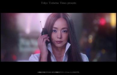 安室奈美恵NTTドコモCM渋谷スクランブル交差点が舞台に!25周年記念コラボCM