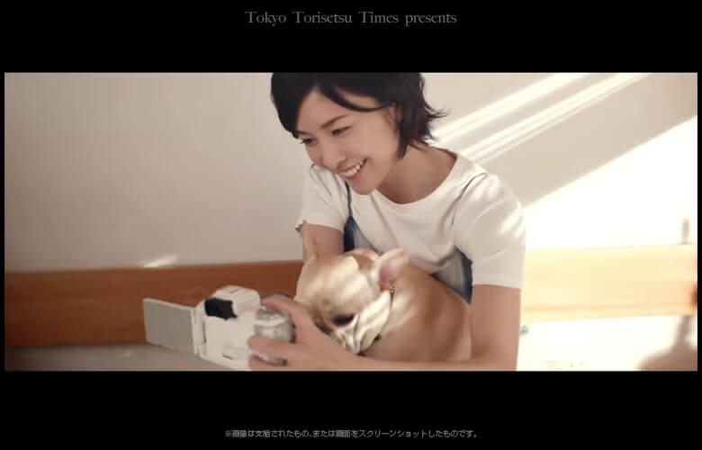 キヤノンEOS Kiss M新CMフレンチブルドッグの名前とロケ地は?アイドルの愛犬と共演