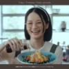 リケンのノンオイル天才調味料CM料理するメガネのママ役は誰?理研ビタミンCM小森真理子