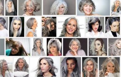 海外で人気のグラニーヘアー!おしゃれ美女達に[おばあちゃんヘア]が大流行!
