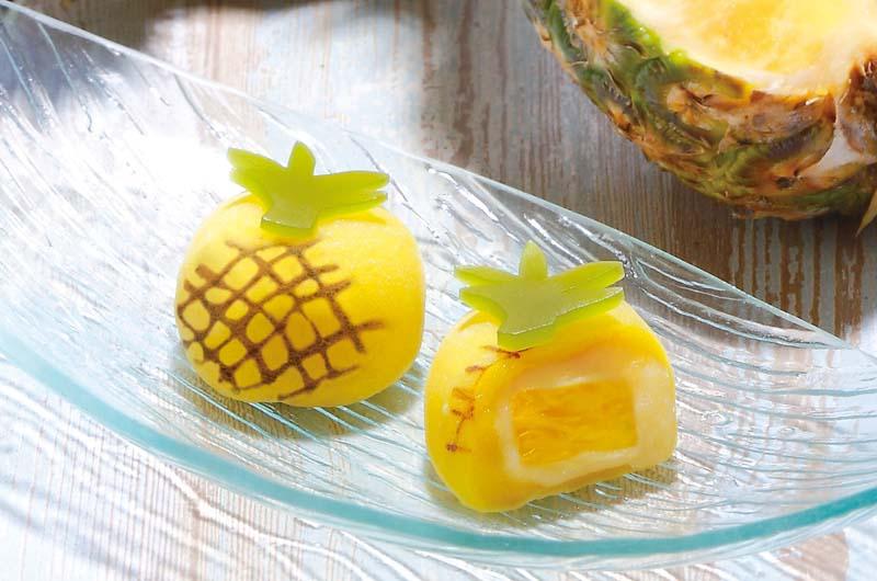 トロピカル冷やしパイナップル大福が柿安から!和菓子の老舗柿安のパイナップル大福が美味しそう