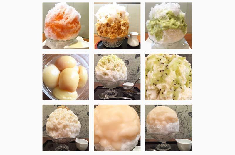 原田麻子さんの食べた かき氷を見るインスタ!年間1500杯のかき氷を食べ尽くすOLさん