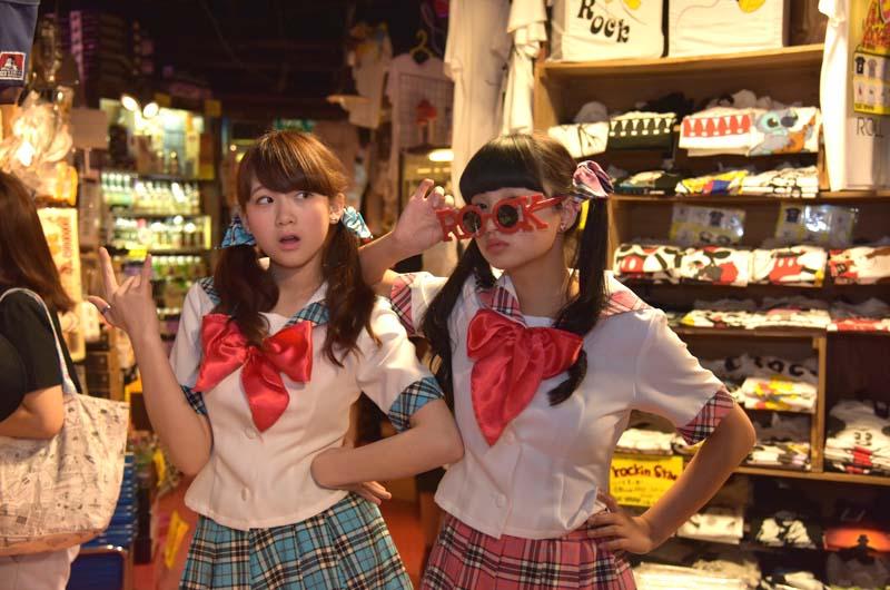 カワイイデス!美少女とひげ少女のLADYBABY!異色のひげ女装と美少女CDデビュー!