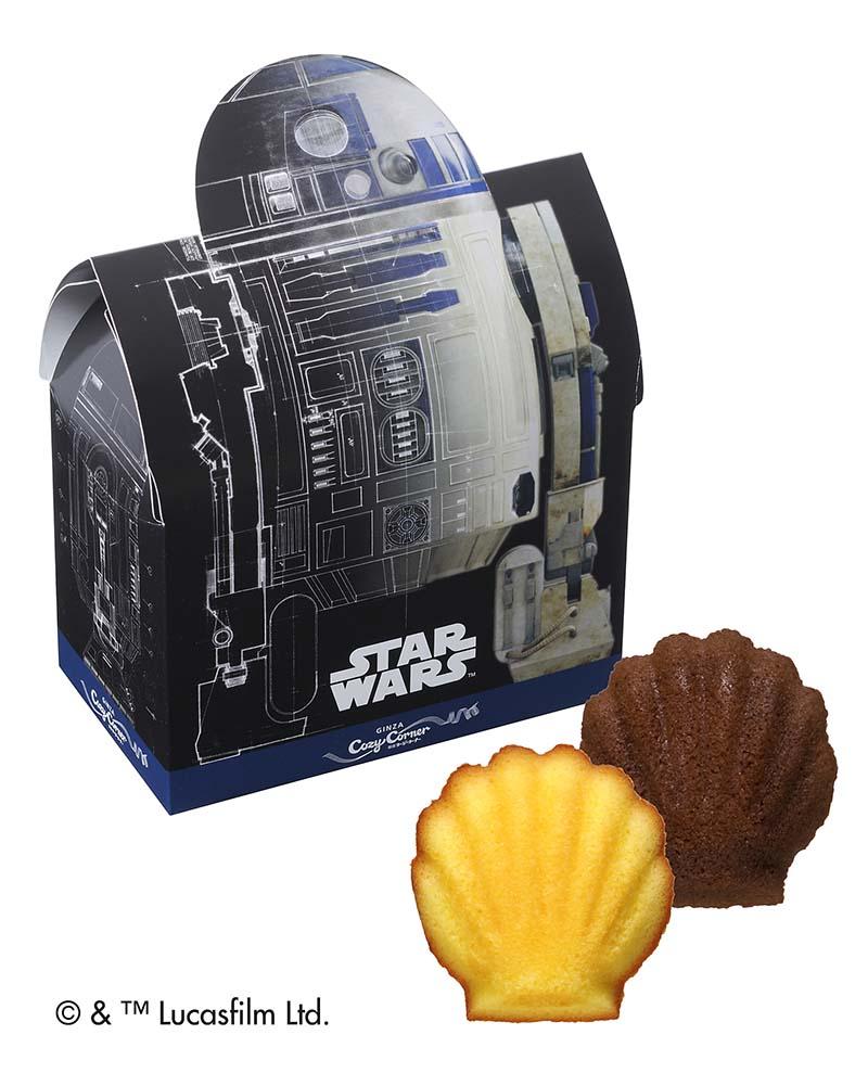 """コージーコーナーが""""スター・ウォーズ""""スイーツ販売!R2-D2など歴代登場キャラクターがスイーツに"""