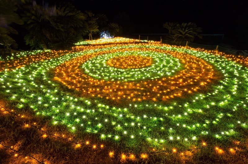 伊豆ぐらんぱる公園伊豆最大2015イルミネーション始まる!50周年記念グランイルミ開催