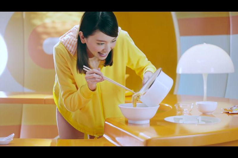 チキンラーメンCMガッキーひよこのフードでレシピも紹介!新垣結衣の日清チキンラーメンCM