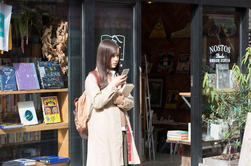 乃木坂46星野みなみ新ステーションIDあたし本と旅するで主演!スペースシャワーTVプラス内ドラマ