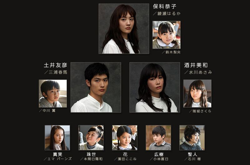 綾瀬はるかドラマ「わたしを離さないで」に出演の子役達は?鈴木梨央ちゃん始め豪華子役陣が出演