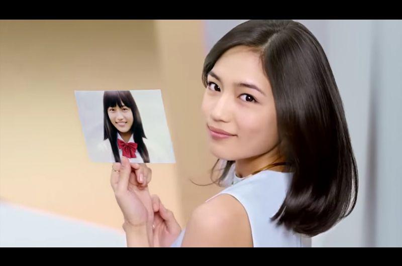 すっぴん美人川口春奈が14才の姿をパンテーンCMで公開!さらさらの髪は変わらず美しい