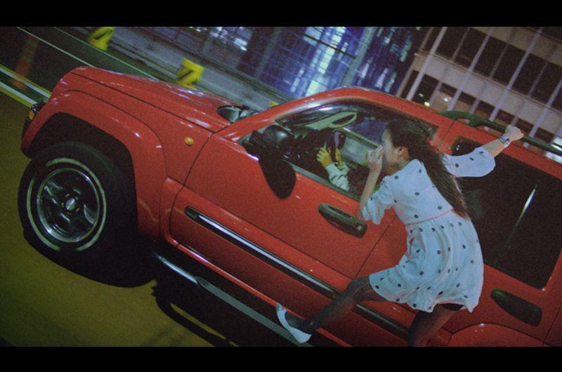 PS4ジャストコーズ3CM空飛ぶエクストリーム女の子は?越川真美ジャストコーズ3のCM出演