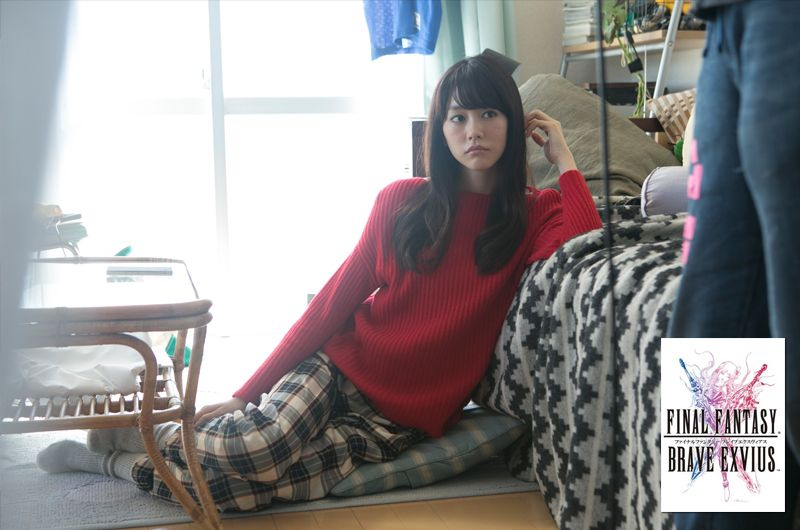 ファイナルファンタジーブレイブエクスヴィアス6種新CM!桐谷美玲スマホゲームFF新作CM