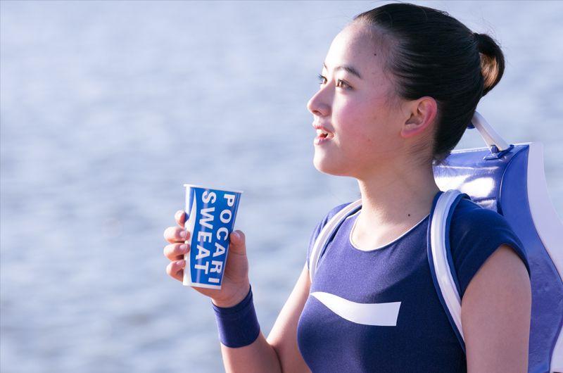 東京マラソンを応援する「新米ポカリガール」の女の子は誰?天野菜月ポカリスエットPVに起用