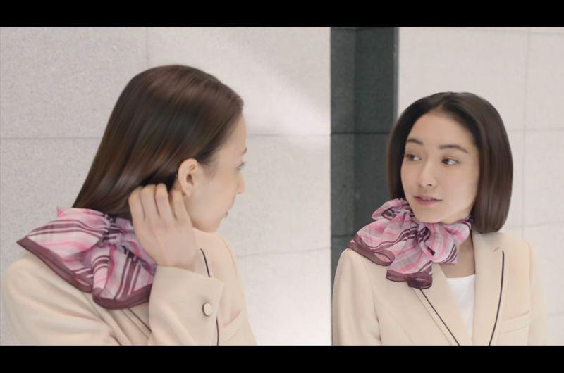花王エッセンシャルCM朝からキレイなひと櫻井翔と女優は?中島亜梨沙と吉田沙世のOL姿