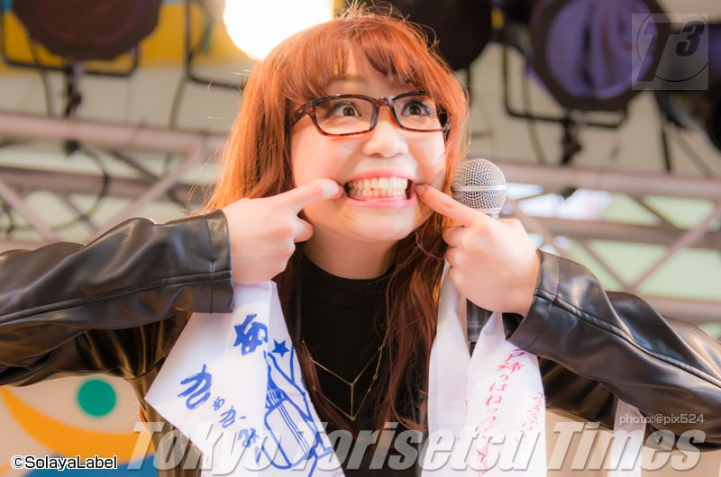 朝倉さや海老名ビナウォークステージ写真とゆらゆらゆらら!進撃の朝倉祭りバックアップ企画