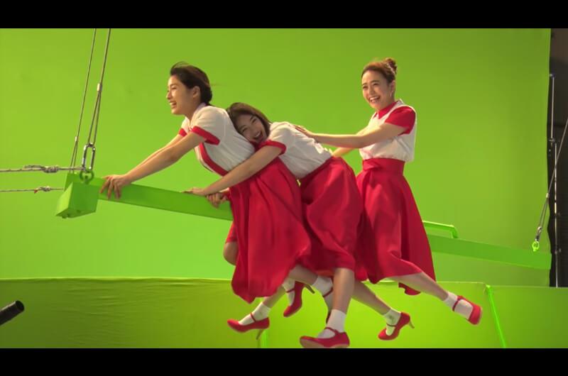 ロッテガーナCM母の日デコガーナ作りをするおなじみの3人組!土屋太鳳・松井愛莉・広瀬すず出演
