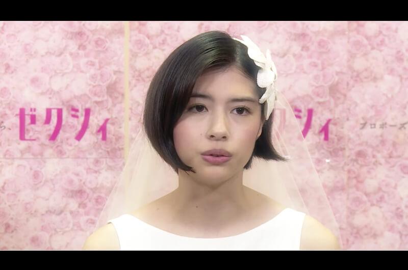 ゼクシィ新CM風船で空飛ぶ新郎新婦ゼクシィ10代目CMガール!佐久間由衣・清原翔出演