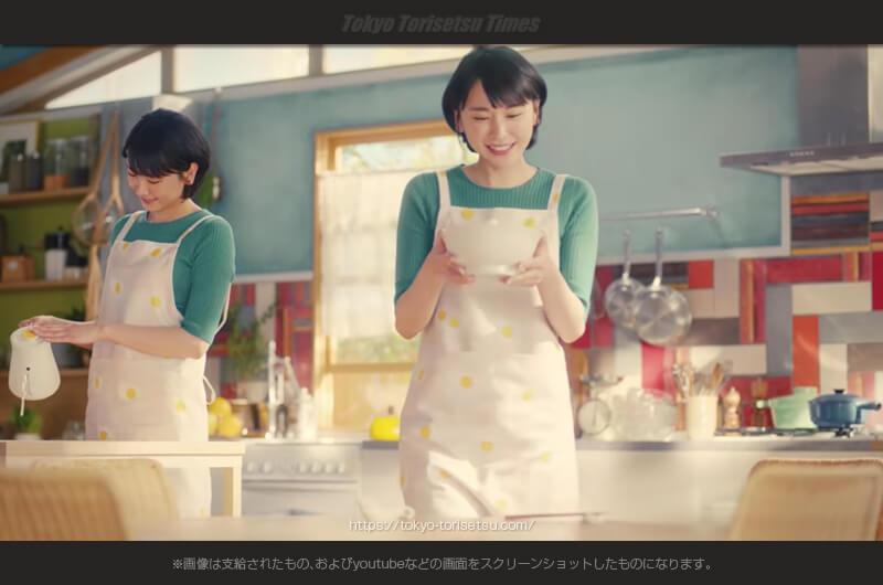 チキンラーメン新CMふたりのガッキーが「しろたま講座」解説!2017版新垣結衣チキンラーメン