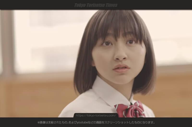 広島女学院大学CM出演美少女の女子高生役森マリアがかわいい!関西美少女図鑑有望の女の子