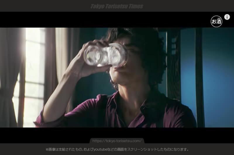 本人?ウィルキンソン・ハード無糖ドライCM伝説の俳優が蘇る!松田優作がCMで蘇る