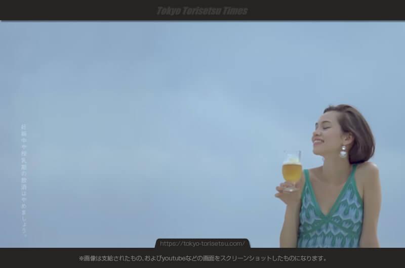 サントリーザ・プレミアム・モルツ新CMサラダで楽しむモデル!水原希子(みずはらきこ)