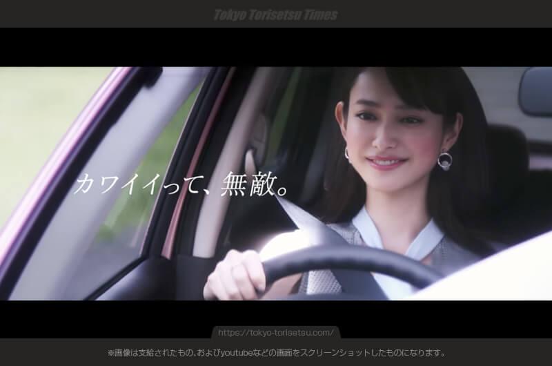 日産マーチCMメークしてナデシコピンクのマーチに乗る女性は?藤野有理(ふじのゆり)出演