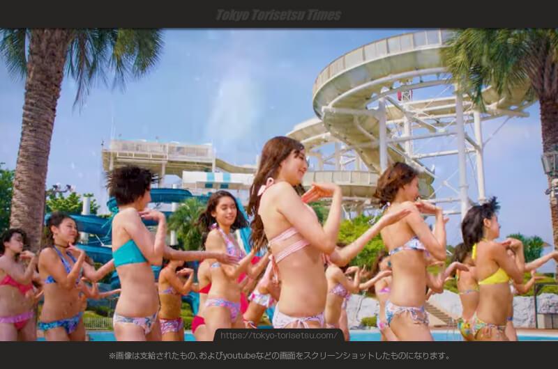 よみうりランド2017夏CMプールは水着美女だらけ!出演者は?着用の水着メーカーは?