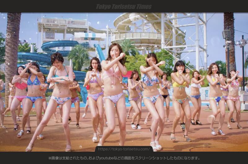よみうりランド2017夏CMプールは水着美女だらけ!出演者は?今年もWAIへ行こう!